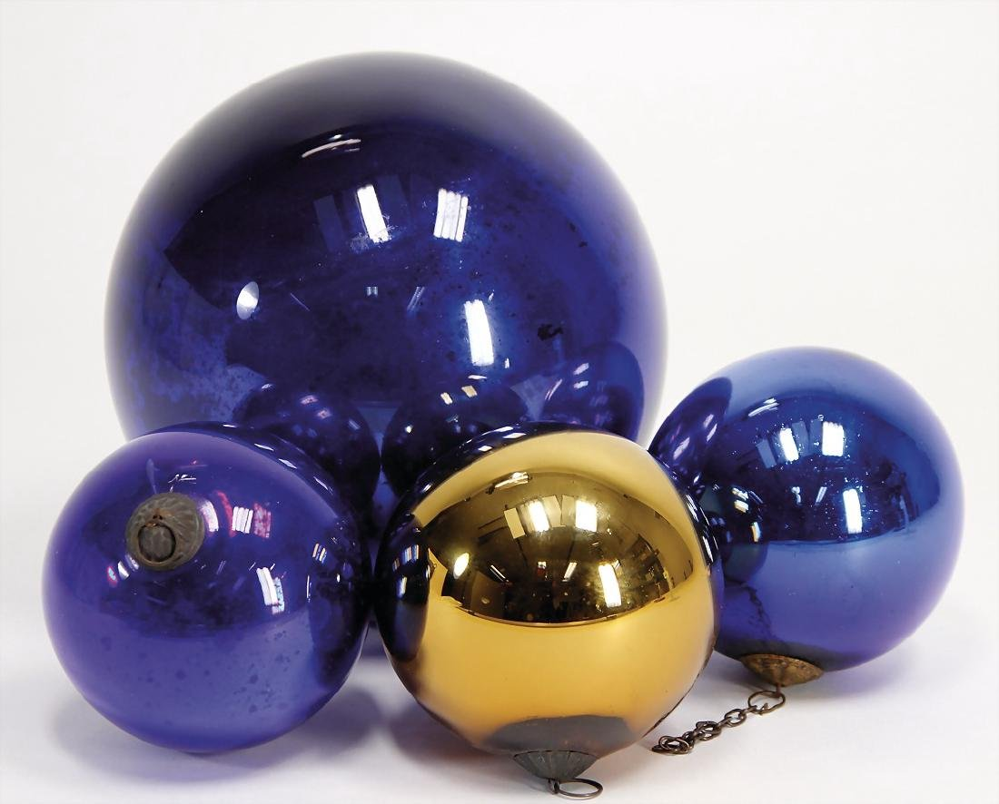 3 pieces Biedermeier, Christmas tree decoration,