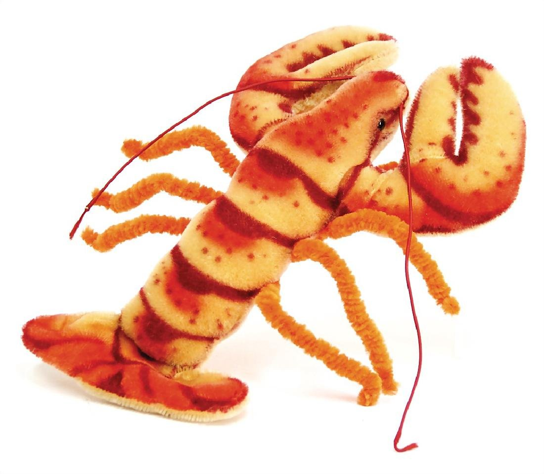 STEIFF Crabby, with head and  yellow cloth tag label,
