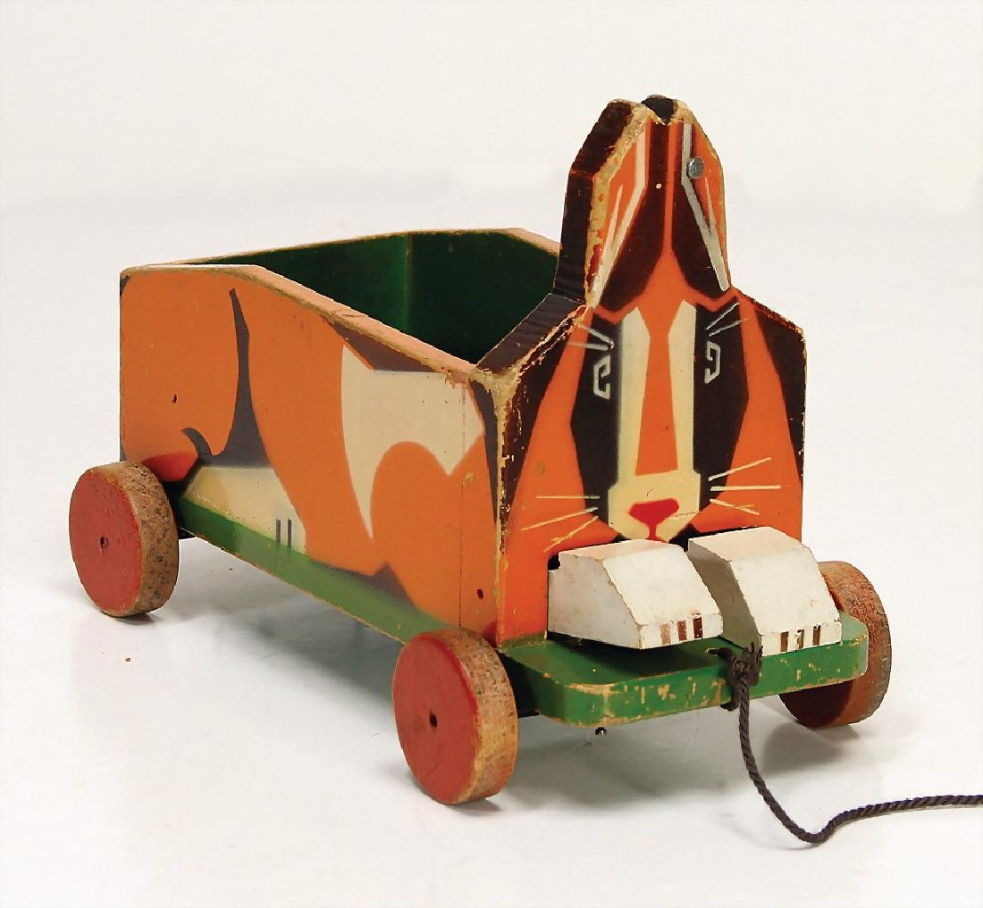 STEIFF Haswag animal car, c. produced between 1927 -