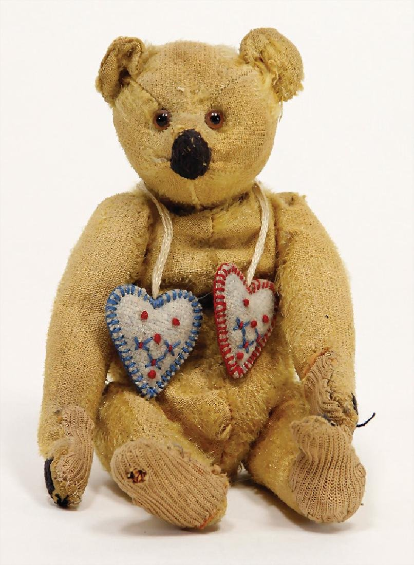 STEIFF bear, pre-war era, 20 cm, strongly used, without