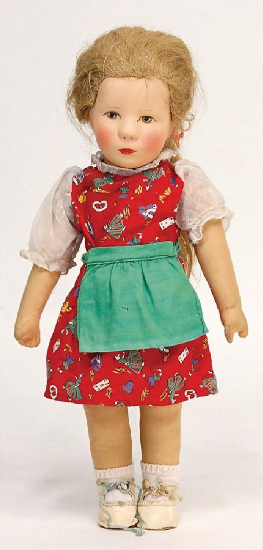KÄTHE KRUSE German child, girl, 36 cm, plastic