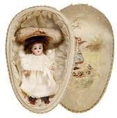 SIMON & HALBIG 890, all-bisque doll, 15 cm,