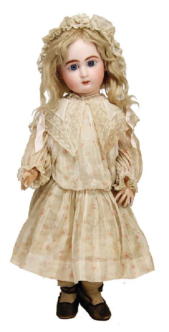 Jullien No. 7, doll with bisque head, France, 48 cm,