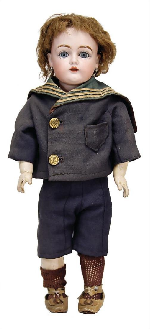 KESTNER 129, doll with bisque head, 42 cm, socket head,