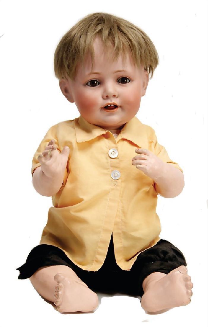 JDK KESTNER 247, biscuit porcelain character doll, 46