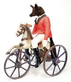 Dreirad in Pferdeform, Frankreich, 68 cm,