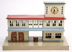 KIBRI Spur 0, Bahnhof, Grundplatte 31 cm x 16,5 cm,