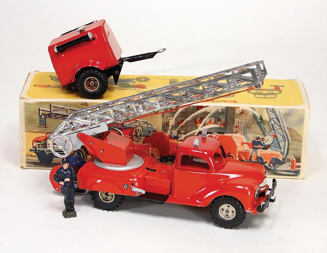 GAMA 260/9, fire engine-cart, ladder is incomplete, 1