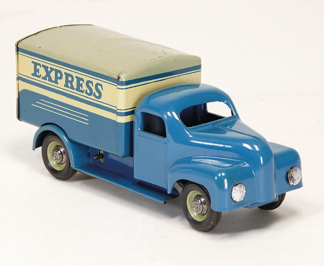 truck Express, early GDR production, clock mechanism is