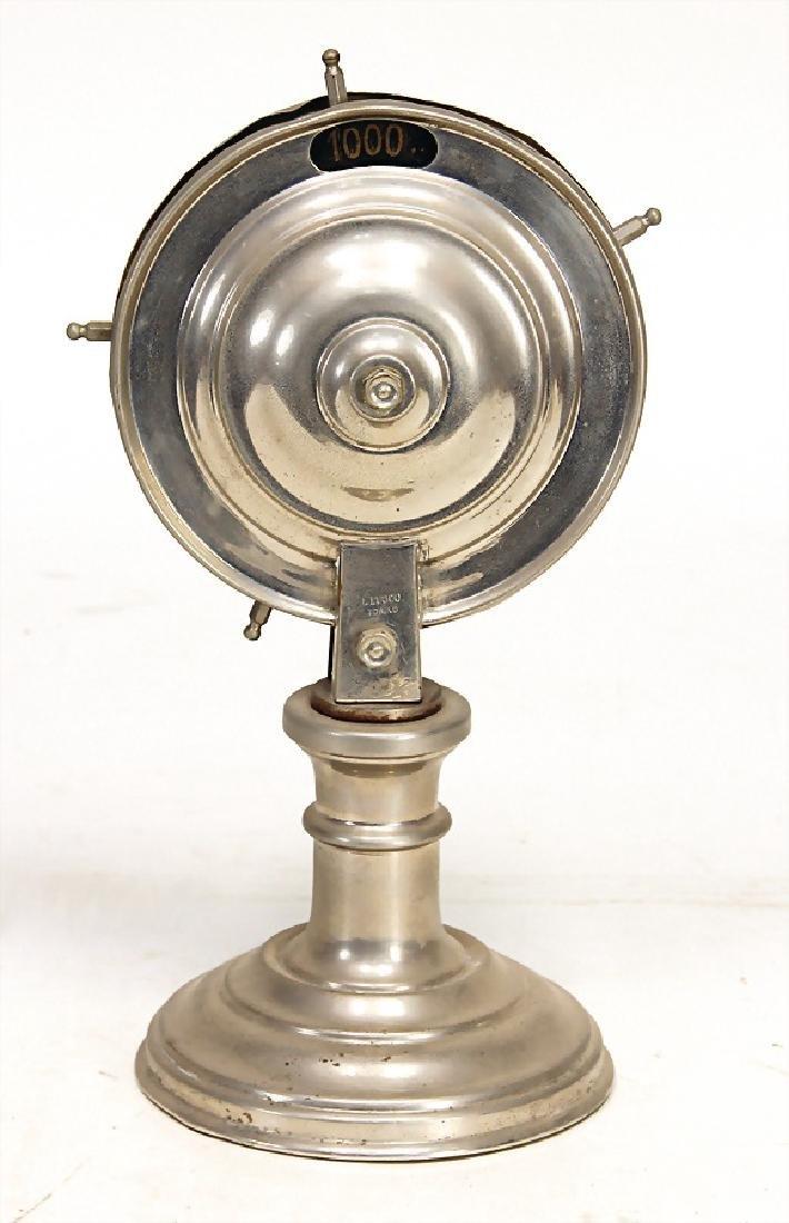 lottery-wheel, probably '30s, sheet metal,