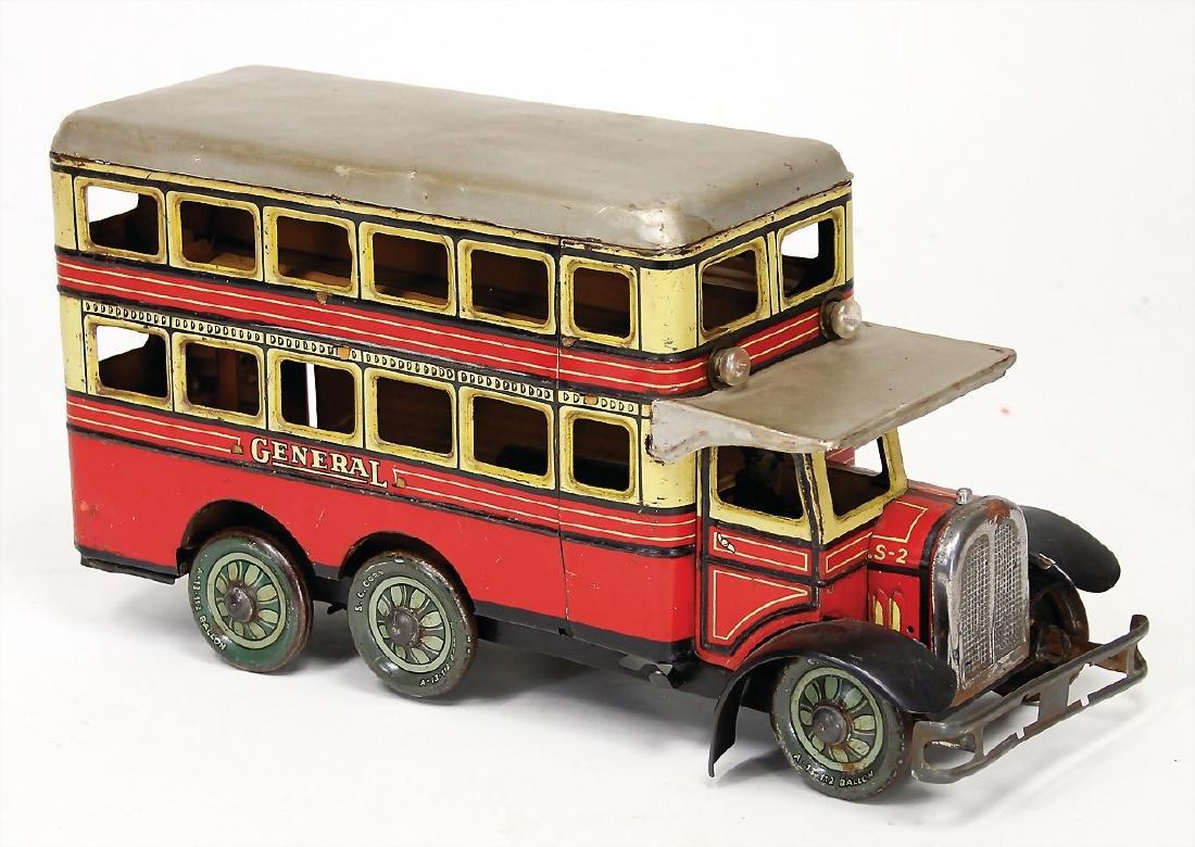 GÜNTHERMANN double decker bus, General, 3-axled,