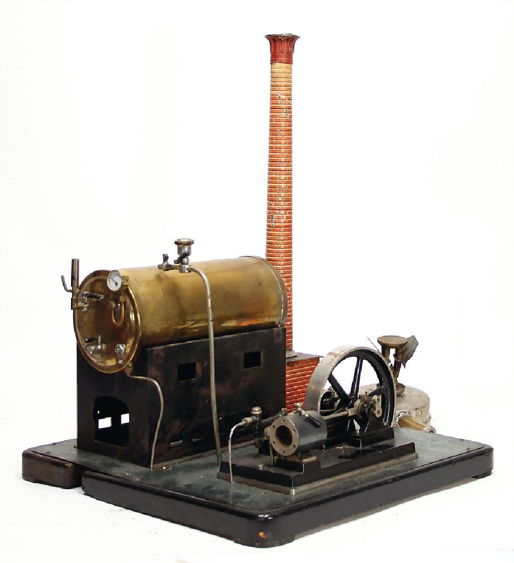 probably BING tall lying steam engine, surface area