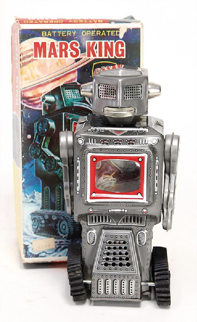 robot, Japan, S.H., Mars-King, Battery operated,