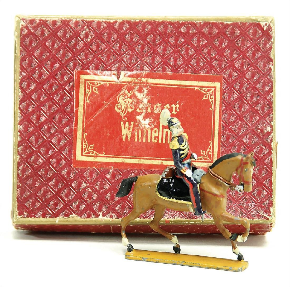 HEYDE tin figure, personality, Kaiser Wilhelm, in