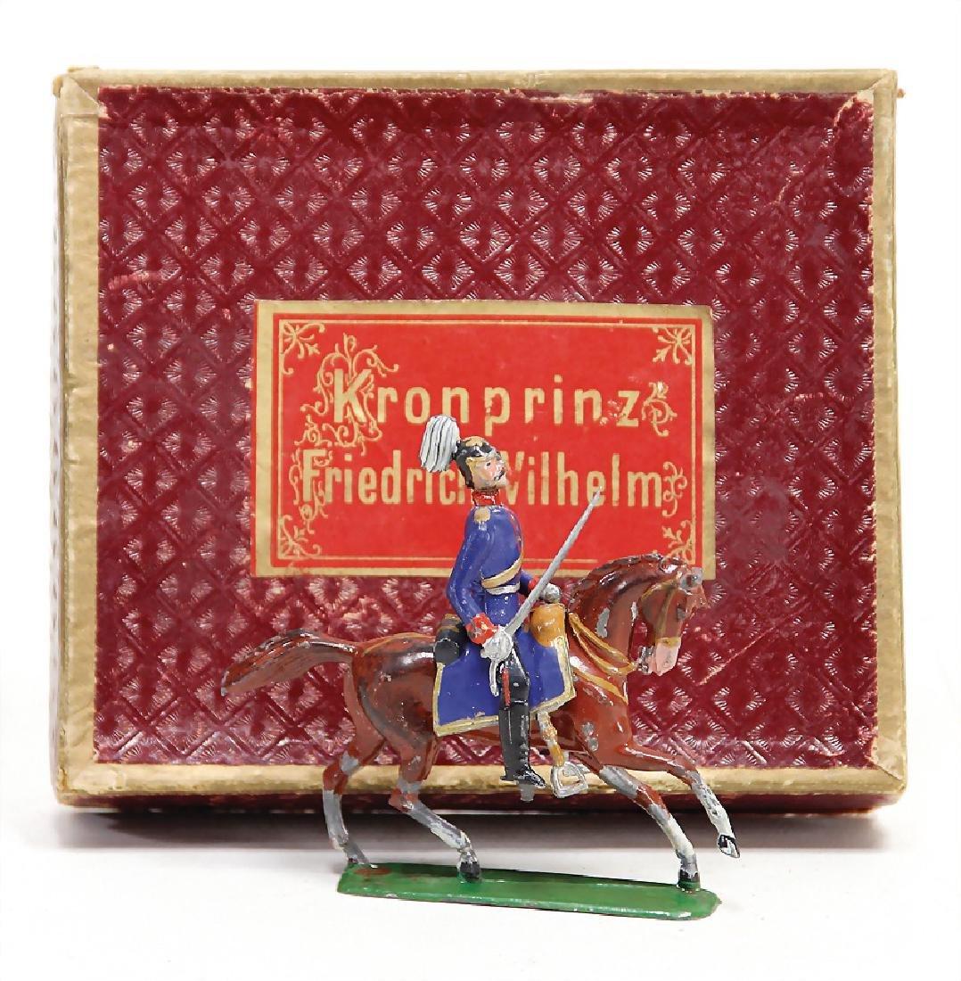 HEYDE pewter figure, Kronprinz Friedrich Wilhelm,
