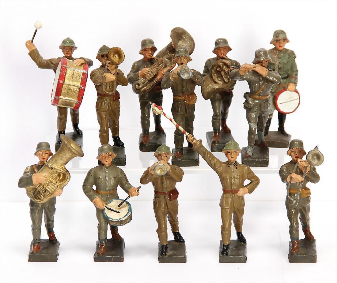 LINEOL Second World War, 7.5 cm, mass, 12 pieces