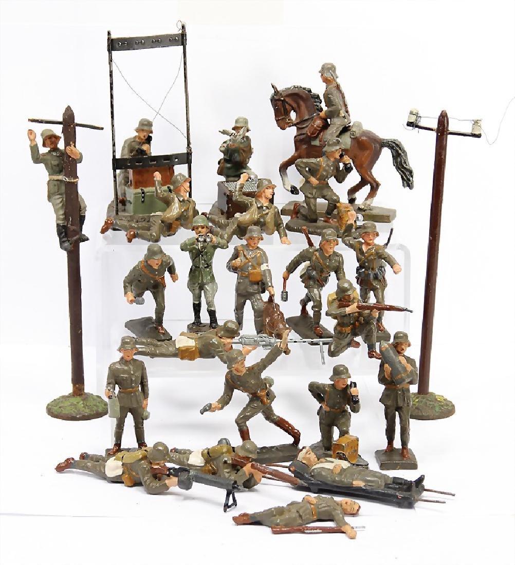 LINEOL 7.5 cm, mass, Second World War, 14 pieces
