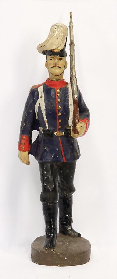 LINEOL mass, First World War, marching figure, with
