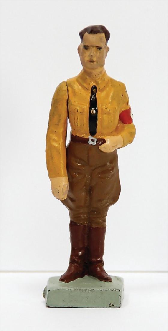 LINEOL Rudolf Heß, 7.5 cm, mass, stand to
