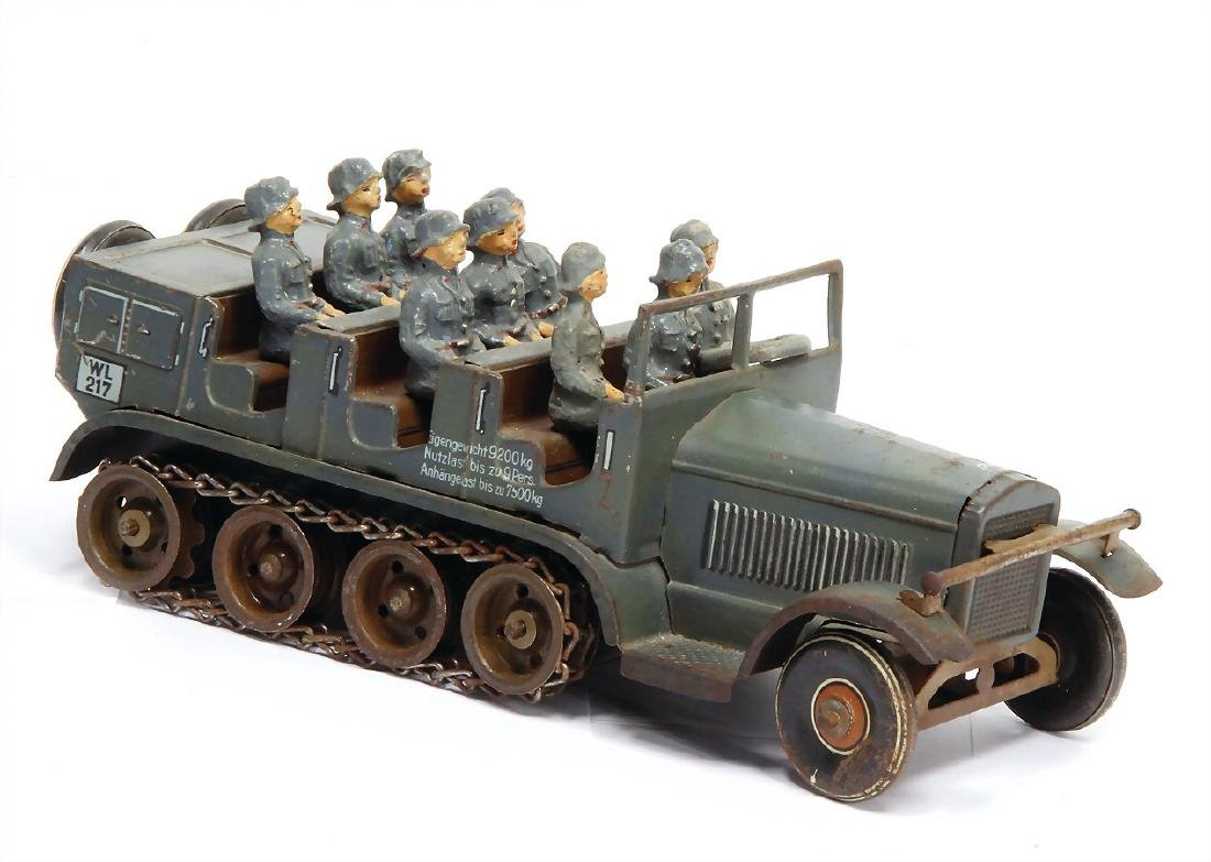TIPP & CO. tracked vehicle, 22 cm, lithographed