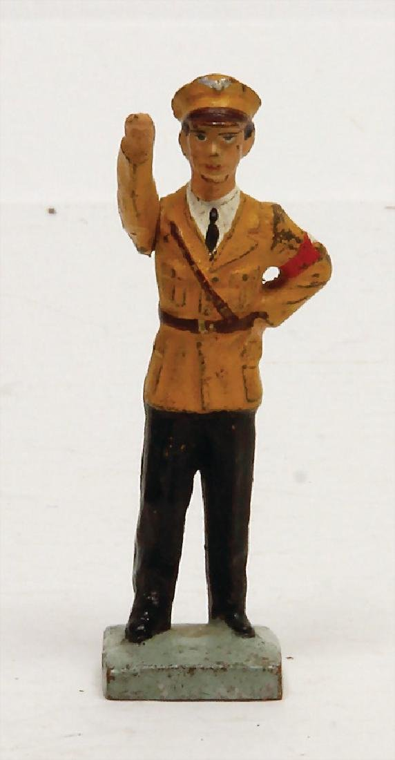 LINEOL Goebbels, Second World War, 7.5 cm, figure in SA
