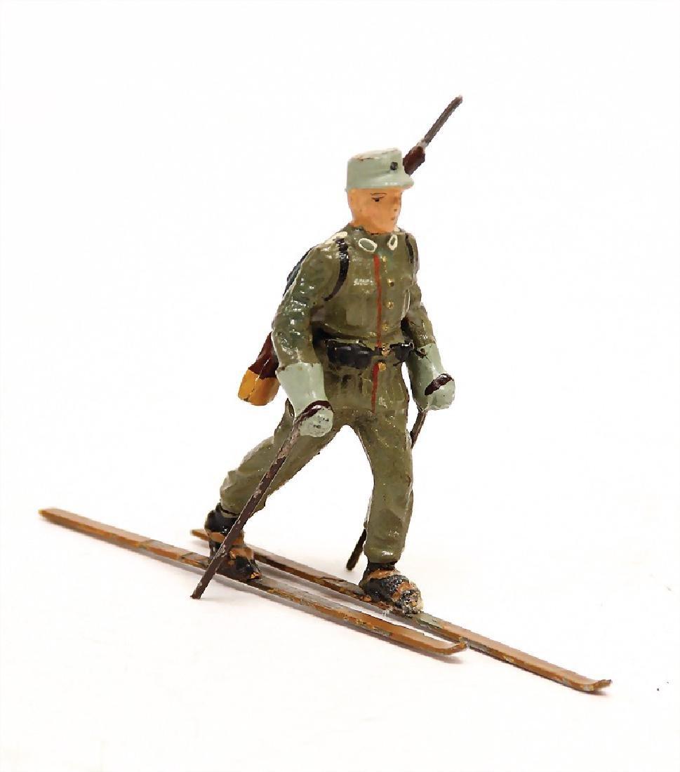 LINEOL skier, mass, 7.5 cm, Second World War, condition