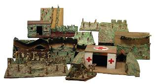 mixed lot with c 10 pieces airraid shelters