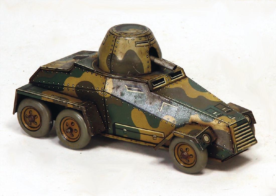 KELLERMANN tank car, lithographed sheet metal, K343,