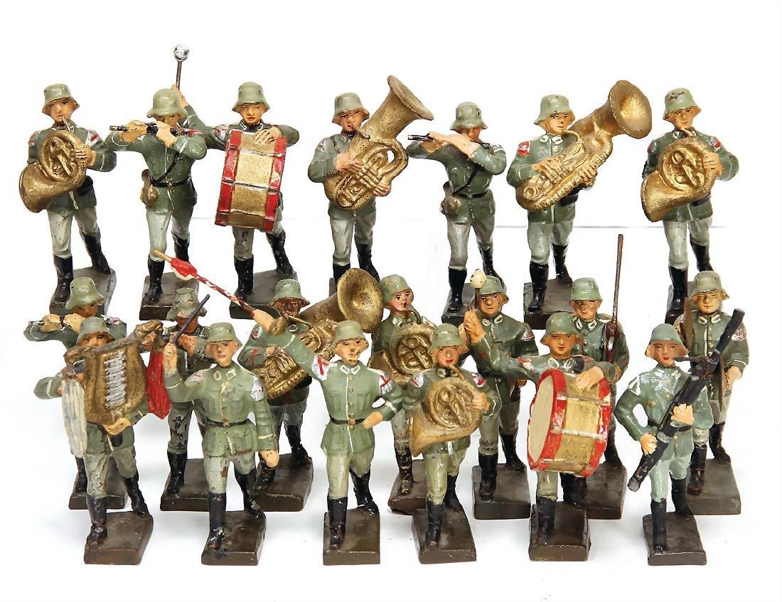 LINEOL c. 25 pieces, mass, 7.5 cm, Second World War,