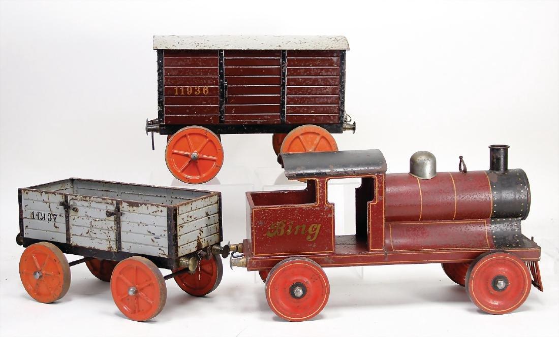 BING bottom runner, tender locomotive B, with