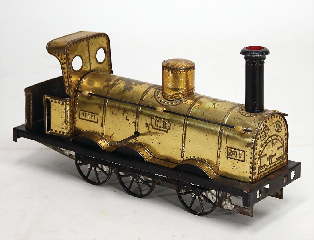 CARETTE tender locomotive, France, bottom runner, 31