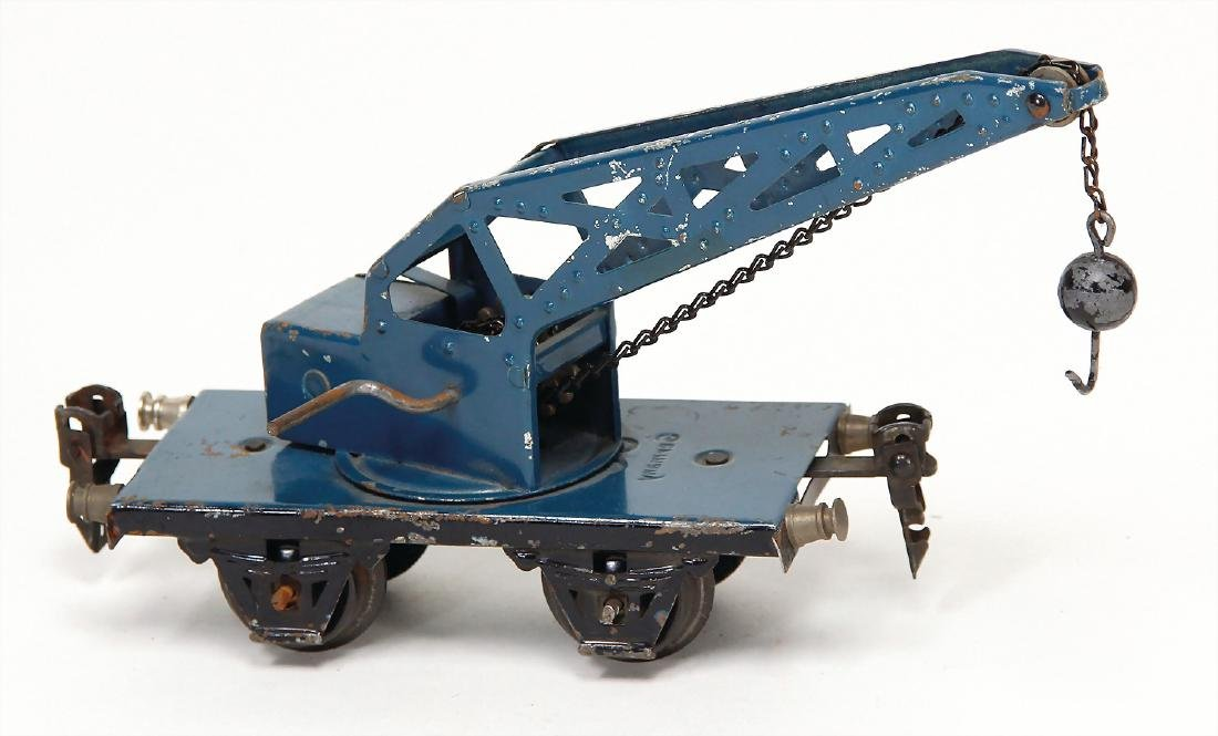 MÄRKLIN track 0, crane truck with ball hook, sheet