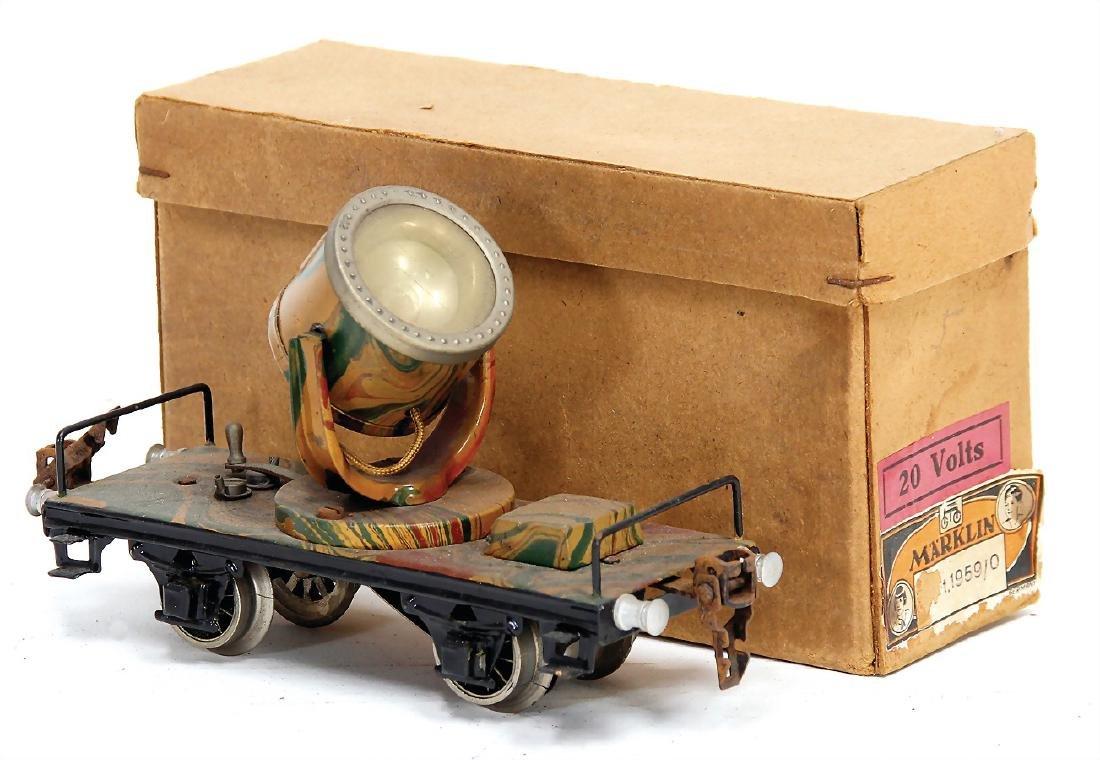 MÄRKLIN track 0, 19590 headlight car, mimicry,