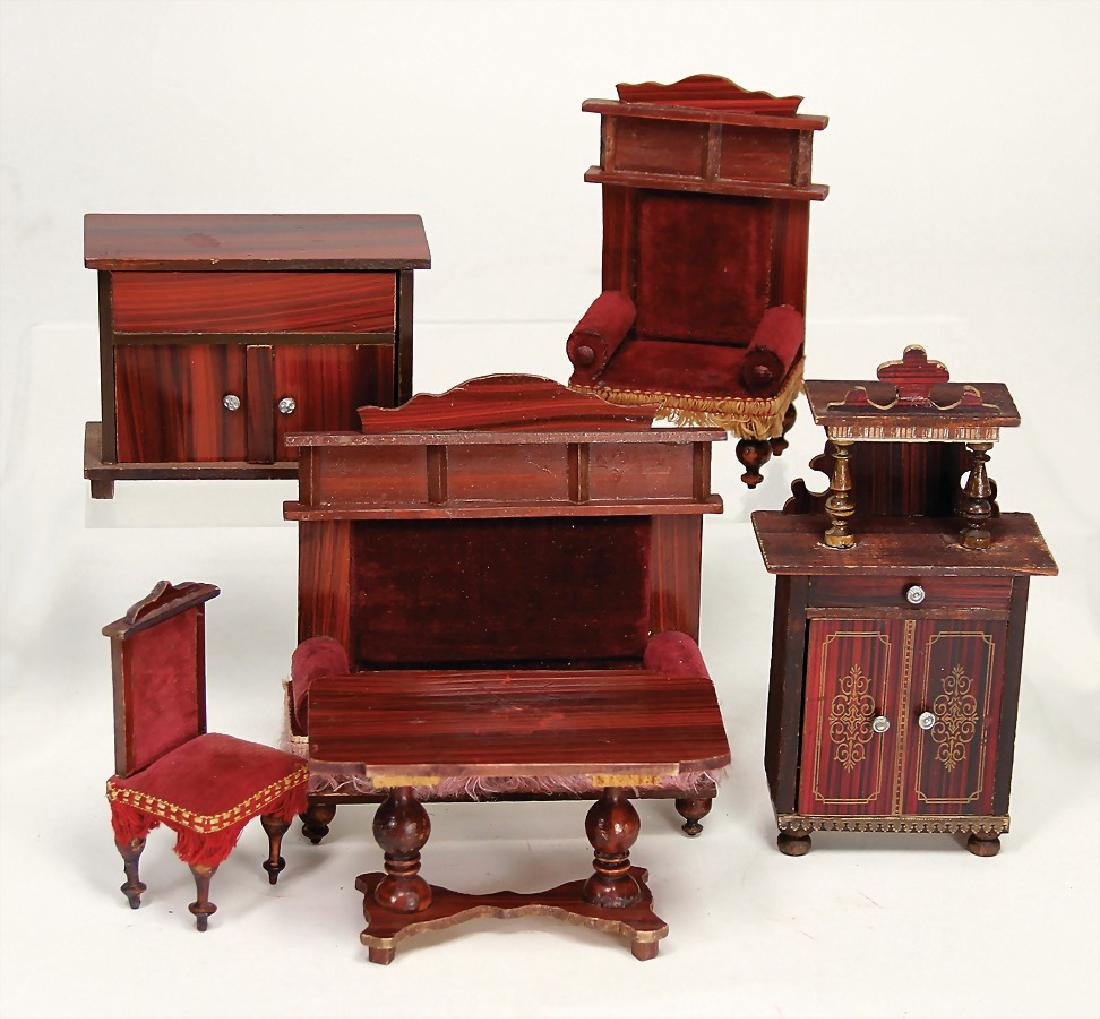 dollhouse furniture program, c. 1890, cupboard, height:
