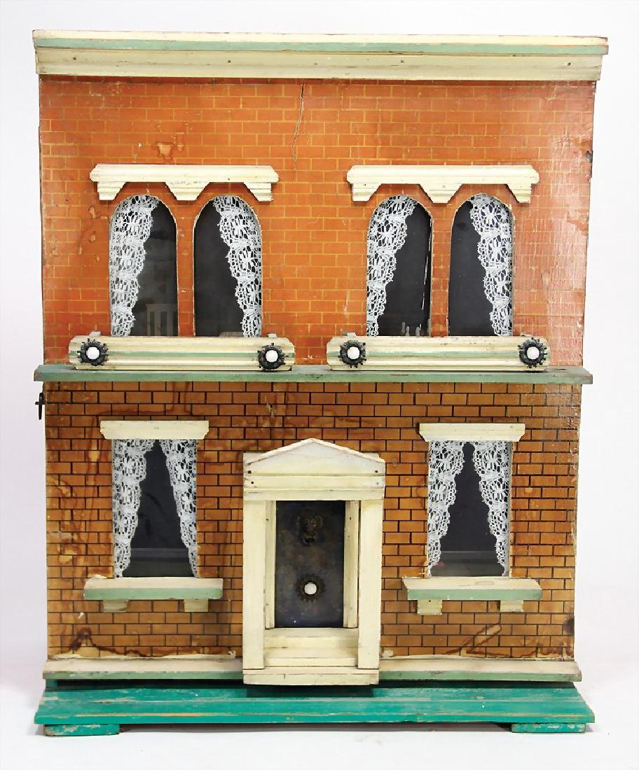 SILVER & FLEMING English dollhouse, around