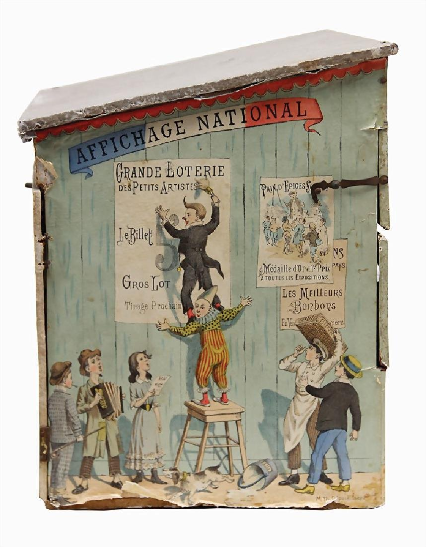 Journaux Amusants lottery, fairground stall, France, - 3