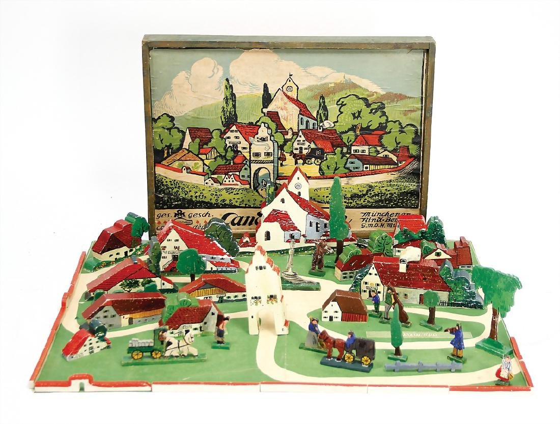 Bauhaus, set up game, small country town, workshop
