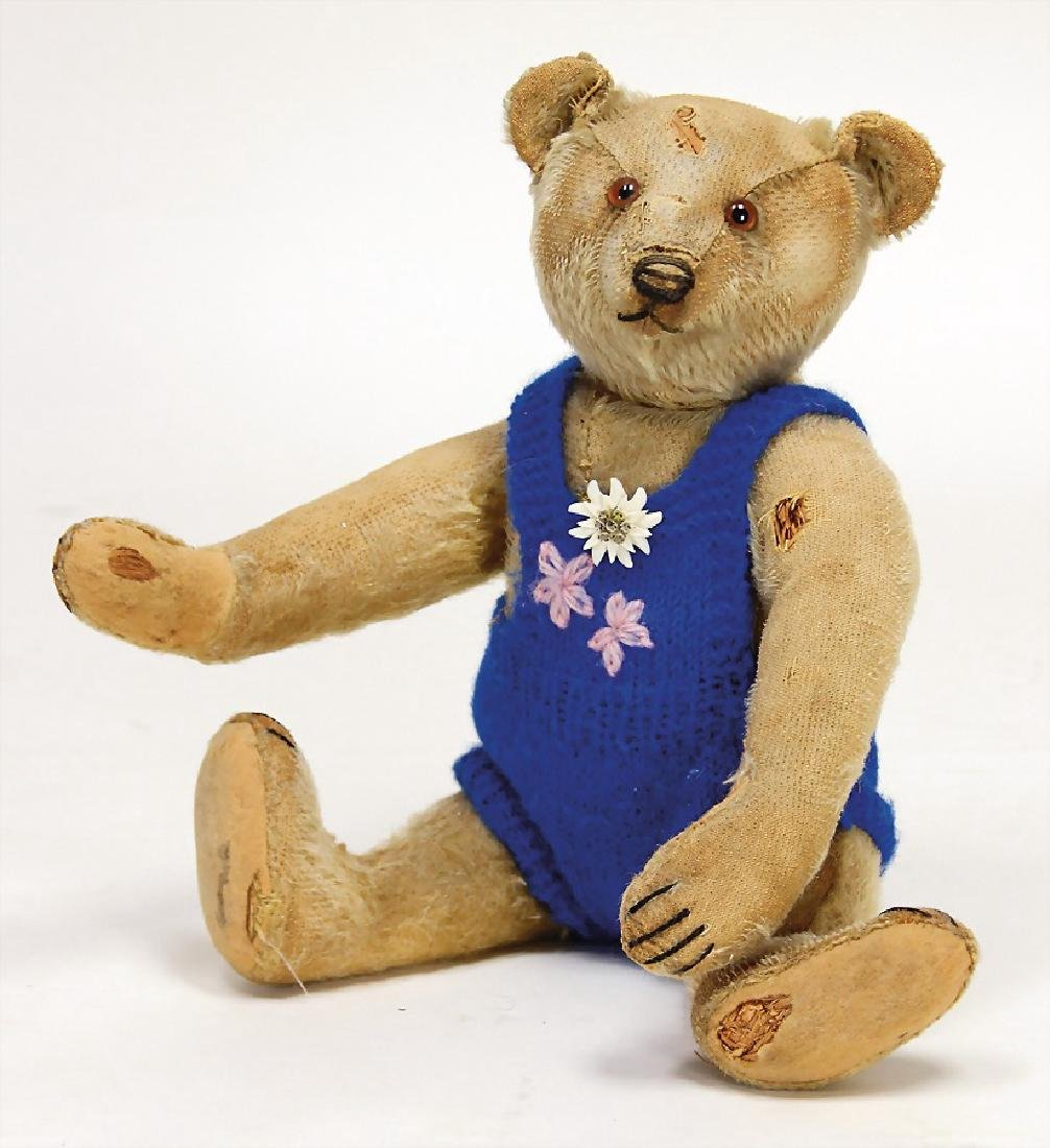 STEIFF bear, 34 cm, probably from the '20s, 32 cm, with