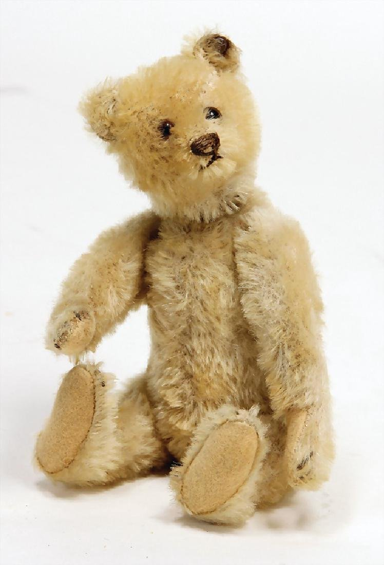 STEIFF bear, '30s, 22 cm, with button, long stretched
