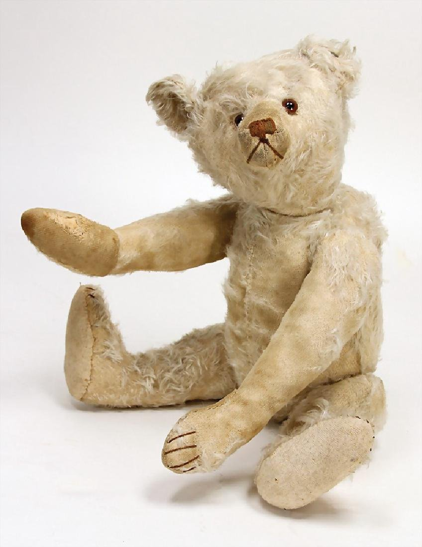 STEIFF bear, probably from the '30s, 50 cm, button,