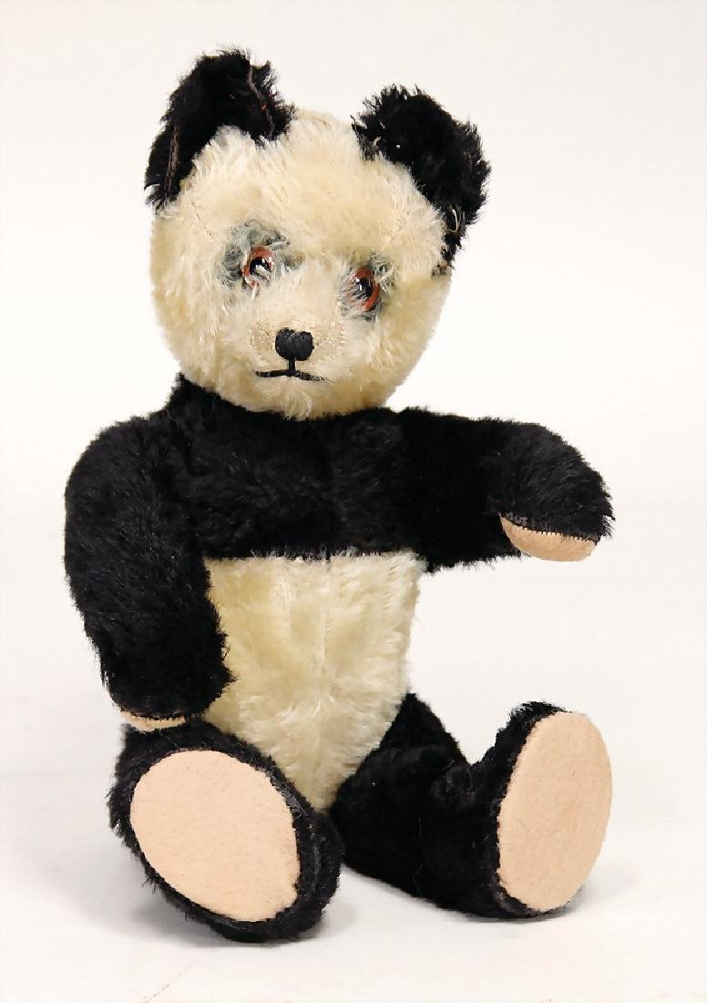 SCHUCO panda, Yes/No, 34 cm, felt at the arms was