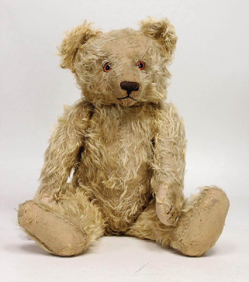 probably KRAMER bear, pre-war era, 62 cm, long arms,