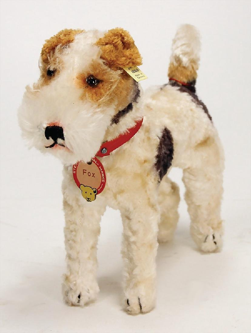 STEIFF foxterrier, only produced in 1948/49, 23 cm,