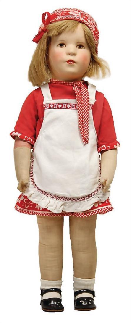 KÄTHE KRUSE German child, Ilsebill, plastic head,