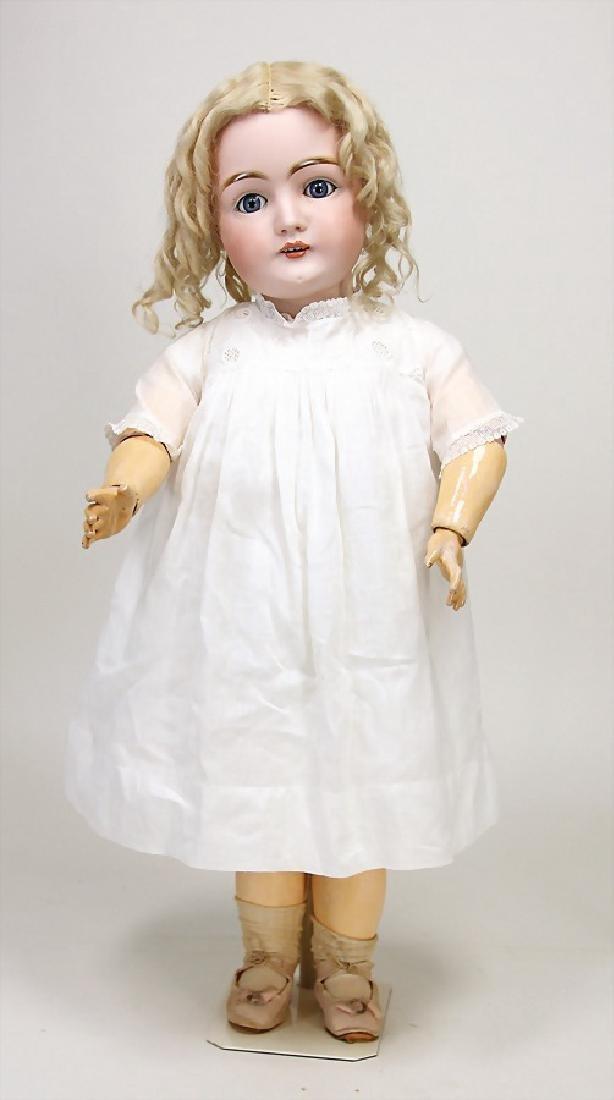 KESTNER doll with bisque porcelain socket head, marked