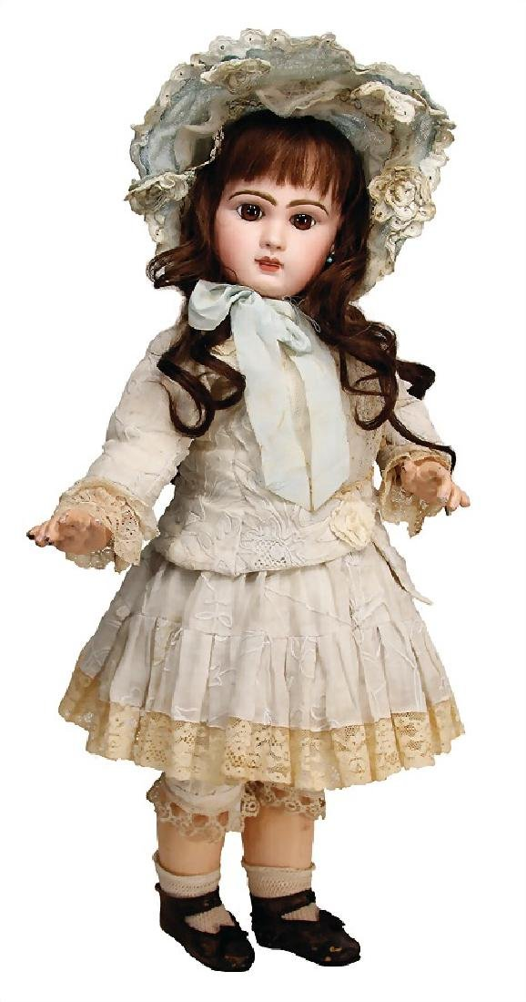 BÉBÉ JUMEAU Tete Jumeau, doll with bisque