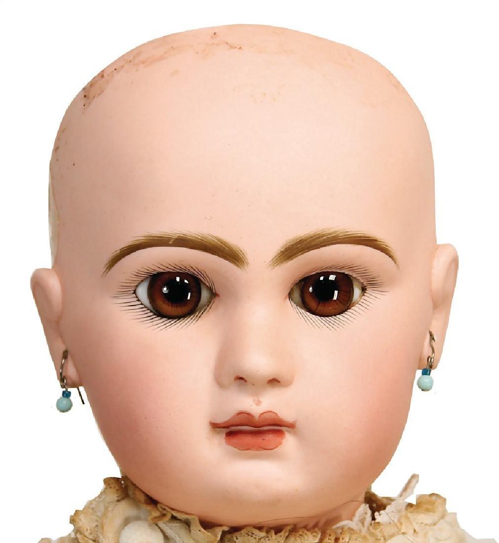 BÉBÉ JUMEAU Tete Jumeau, doll with bisque - 3
