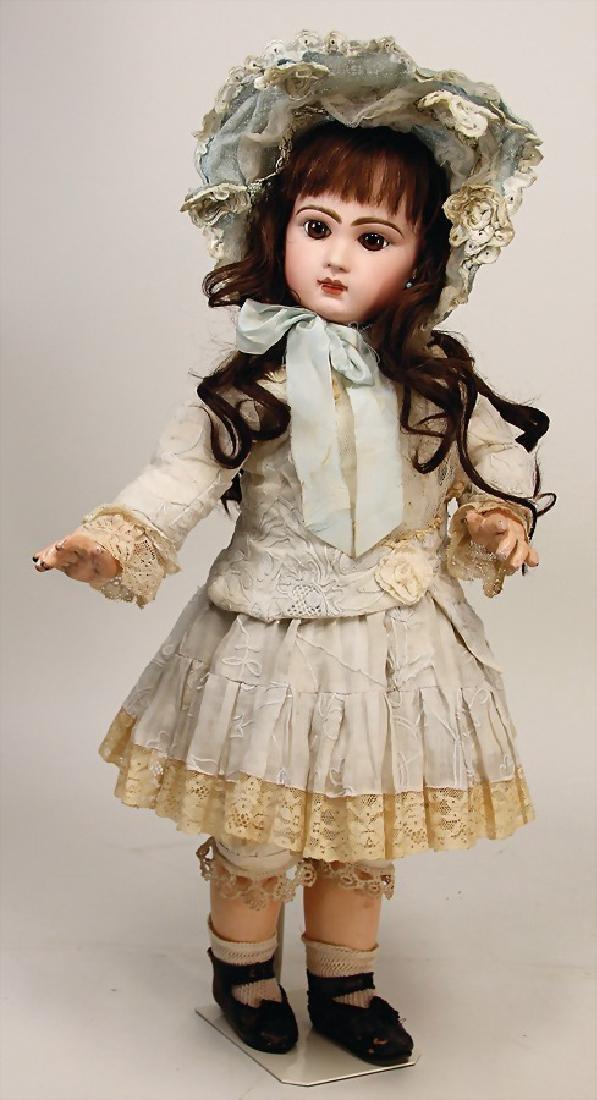 BÉBÉ JUMEAU Tete Jumeau, doll with bisque - 8