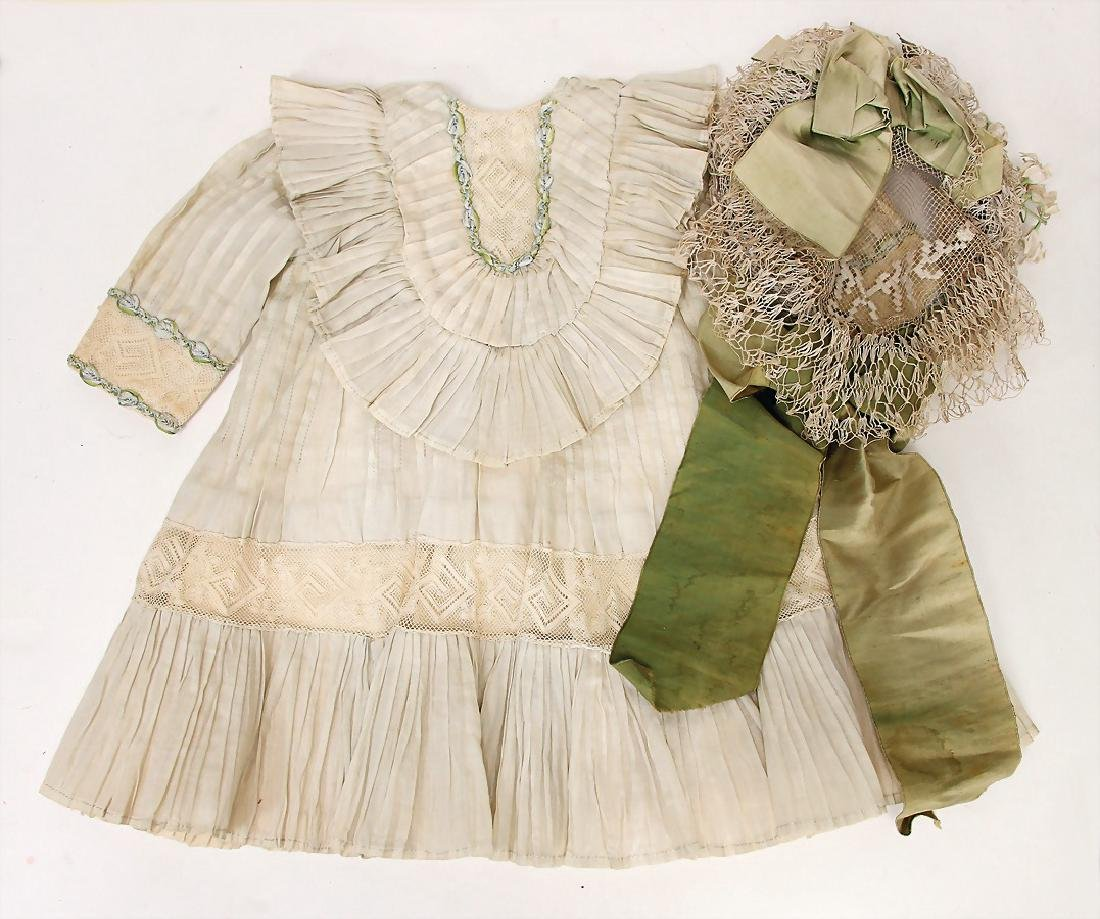 small doll dress for a French Bébé, for
