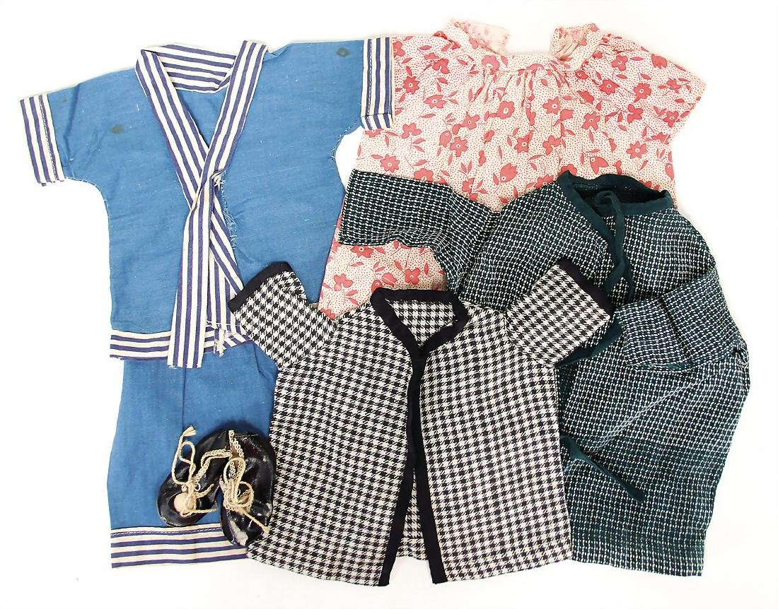 mixed lot of  clothes, 1 Zweiteiler, blouse with ROCK,